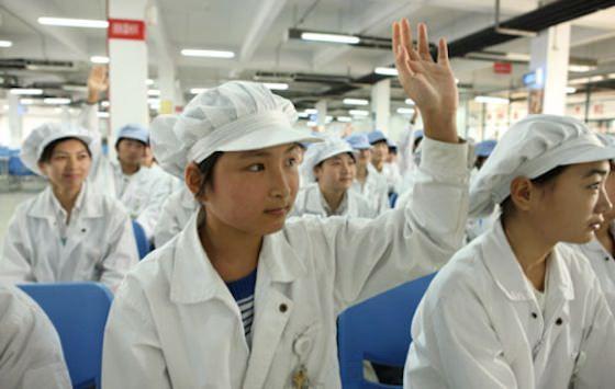 Условия труда на заводах Foxconn все-таки были улучшены