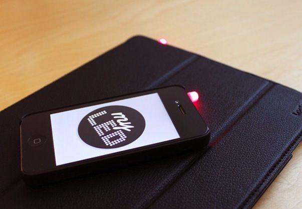 MyLED: о входящих звонках и сообщениях будет оповещать световая сигнализация