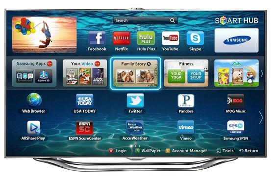 Smart телевизоры Samsung