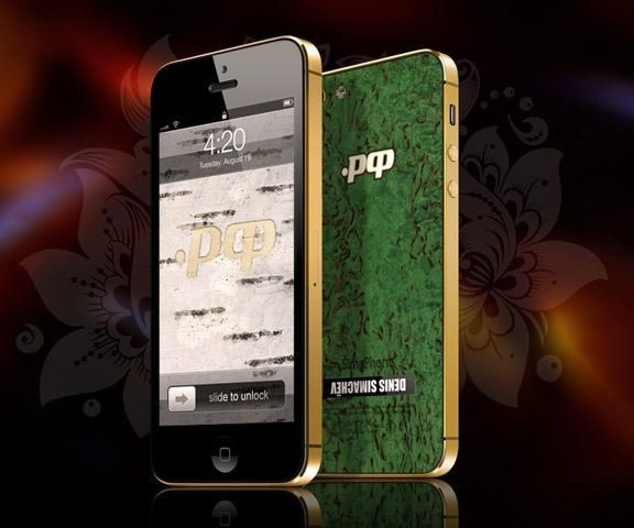 SimaPhone 5 .РФ - проявите свою любовь к Родине за 94 500 рублей