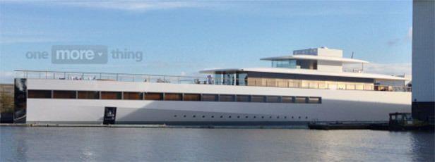 steve yacht
