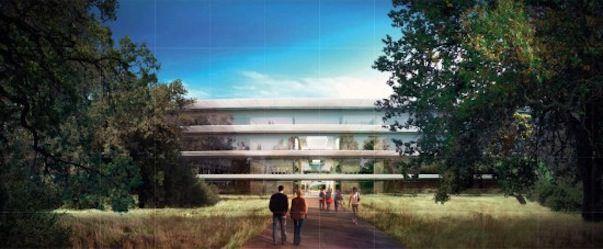 Подробности проекта Apple Campus 2