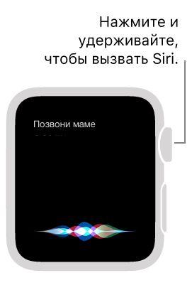 Как позвонить при помощи Siri, используя Apple Watch