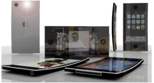 Apple получила патент на изогнутые дисплеи