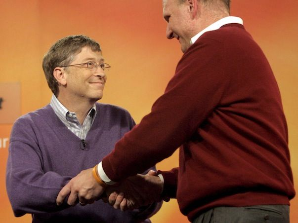 Стив Балмер уходит не так просто, как утверждают в Microsoft