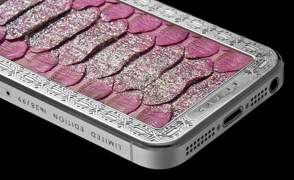 Новогодняя коллекция изысканных iPhone 5 от CAVIAR