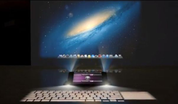 Видео-концепт будущего iPhone с голографической клавиатурой и проекционной системой