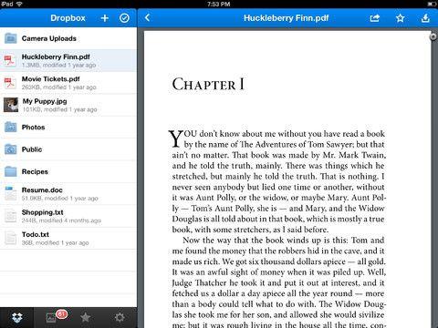 Cкачать Dropbox для iPhone и iPad c полностью переработанным дизайном