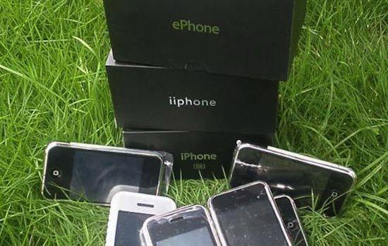 В Россию пытались провезти большую партию поддельных iPhone