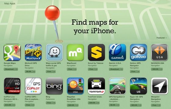 Новые карты для iOS