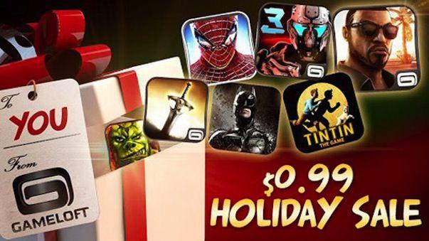 Спешите! Cкидки до 75% на культовые игры для iPhone и iPad от компании Gameloft