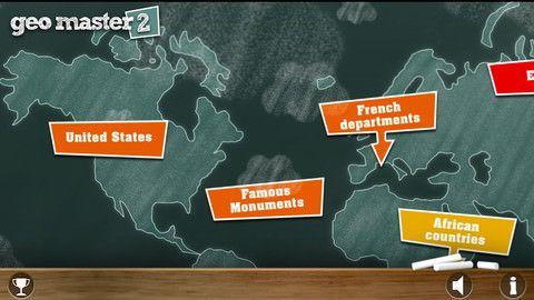 «12 дней подарков от iTunes»: день Третий – Geomaster 2 – проверка знаний по географии