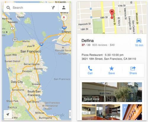 Новые Карты Google для iPhone и iPad скачали 10 миллионов раз за первые два дня