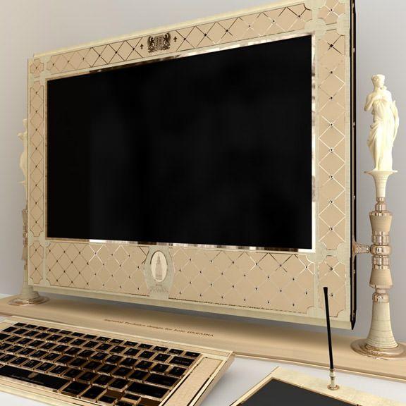 iMac из драгоценных камней и металлов за 3 миллиона рублей