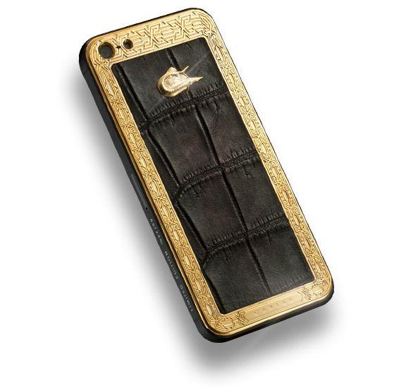 Золотая коллекция роскошных iPhone 5 от Caviar