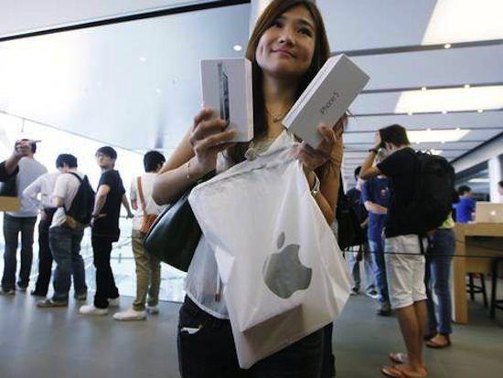Аналитики: Мощный старт iPhone 5 в Китае оставляет возможности для дальнейшего роста продаж