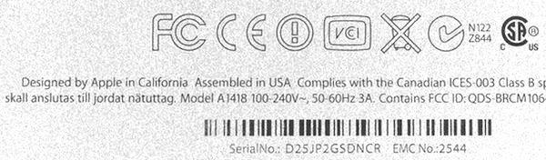 """На некоторых новых iMac присутствует маркировка """"Собрано в США"""""""