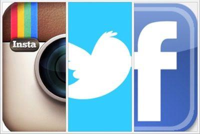 instagam facebook twitter
