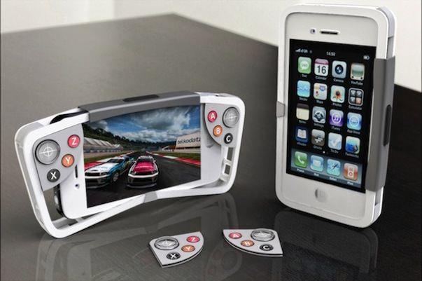 Игровой чехол FlipSide для iPhone с возможностью работы от солнечных батарей