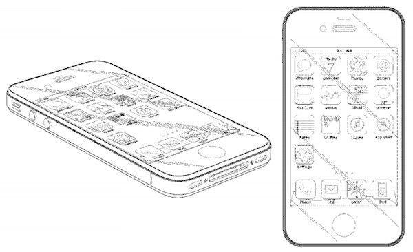 Apple получила патент на дизайн iPhone 4