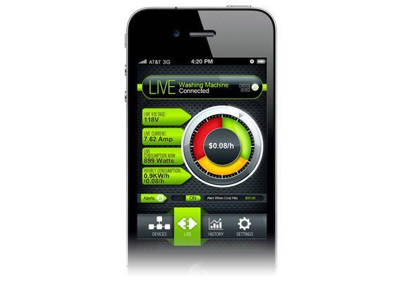 Экономная розетка под управлением iPhone и Android