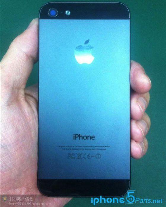 Внешняя часть задней панели iPhone 5S