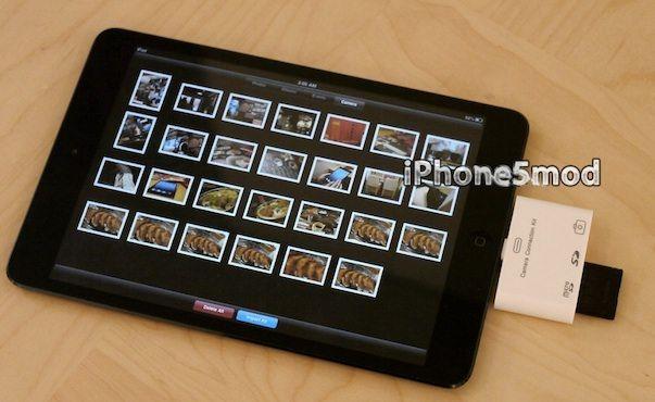 В продаже появился Camera Connection Kit для iPad mini и iPad 4