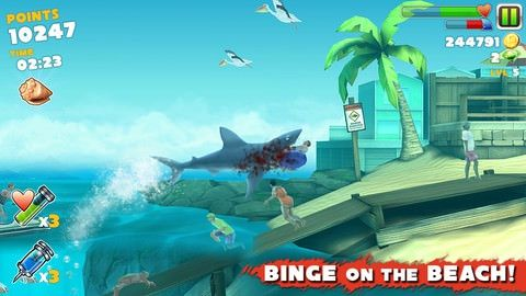 Cкачать Hungry Shark Evolution для iPhone, iPad и Apple TV