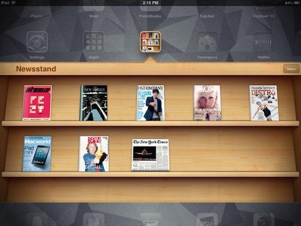87% всех американских газет и журналов имеют приложения для iPad