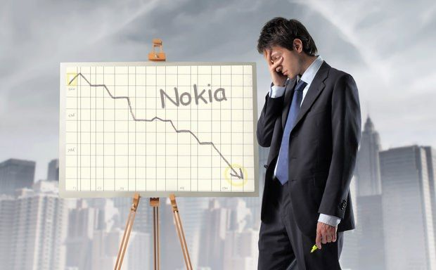nokia losses