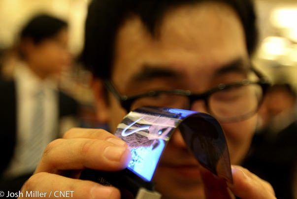 На выставке CES Samsung представит гибкий 5,5-дюймовый дисплей