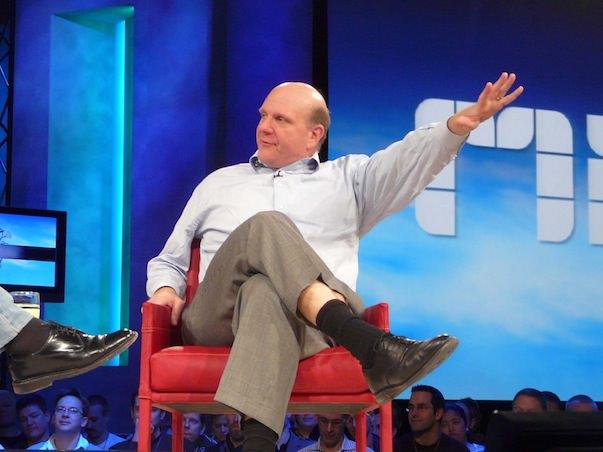 Стив Балмер худший топ-менеджер США в 2012 году по версии Forbes