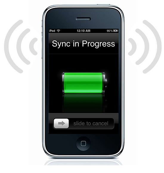 sync iphone symbian android