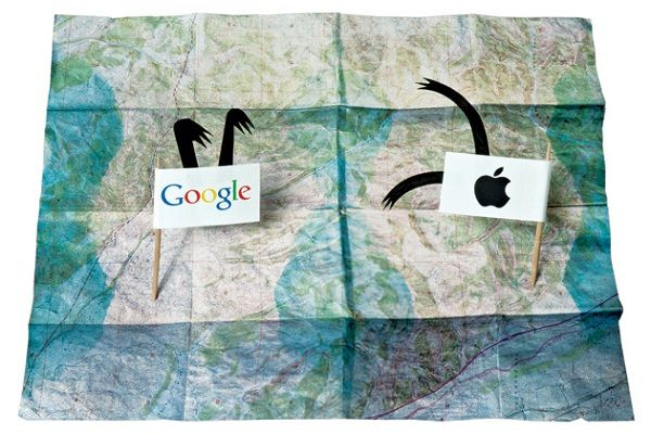 Google Maps vs Apple Maps