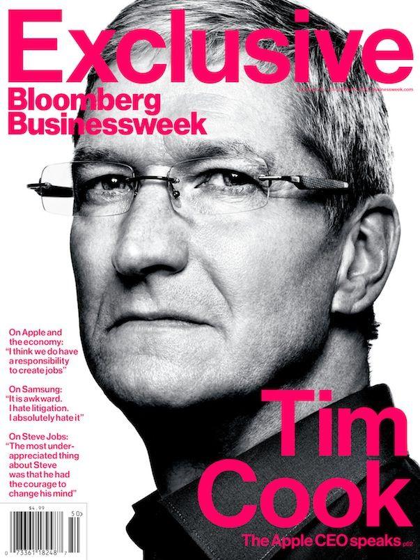 Лучшие цитаты Тима Кука из интервью в Bloomberg Businesweek