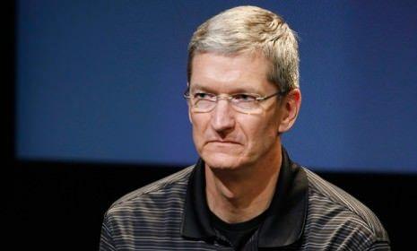 tim cook sad apple