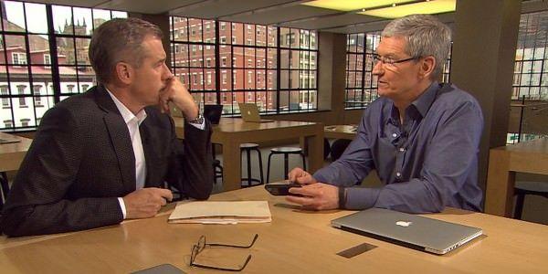Интервью Тима Кука для NBC