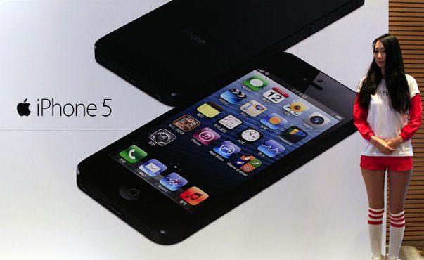 Начало продаж iPhone 5 в Южной Корее ознаменовано грандиозными праздниками