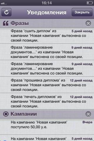 Скачать Яндекс.Директ для iPhone