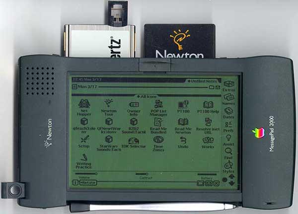 Newton PDA мог стать первым в мире смартфоном