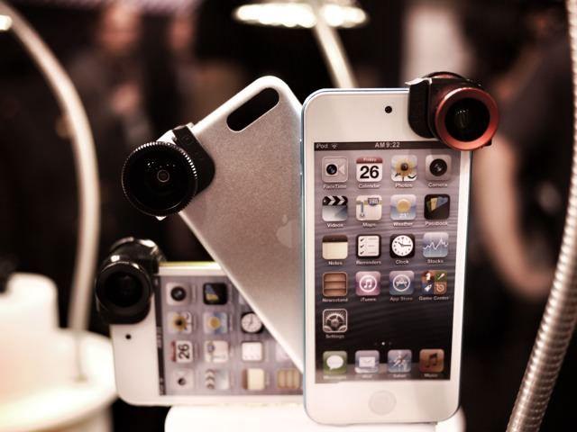 Новые линзы Olloclip для iPod Touch
