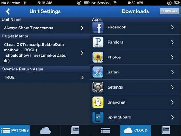 Flex из Cydia позволит создавать джейлбрейк твики самостоятельно прямо на iPhone или iPad