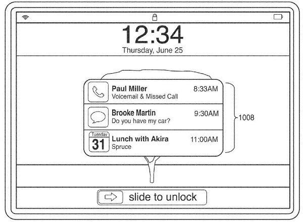 Notification Center на iPad