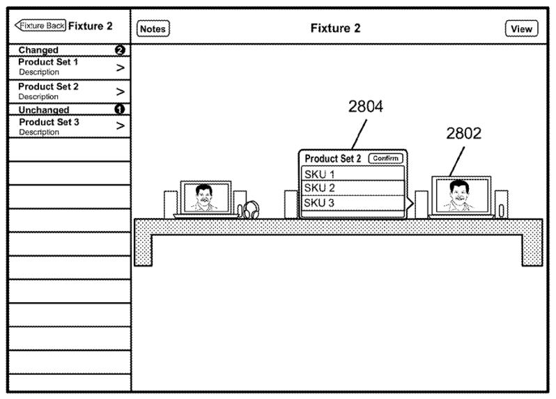 Очередной патент на Apple Store