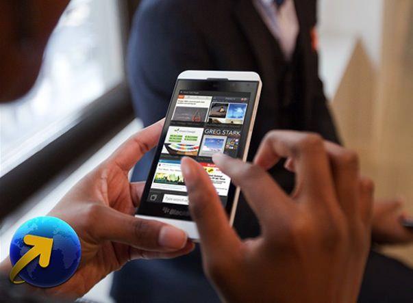 Рекламные фото нового смартфона RIM на ОС BlackBerry 10