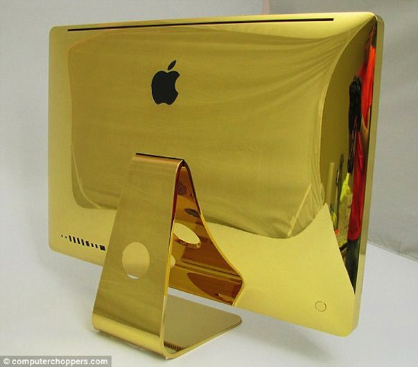 Золотой iMac от ComputerChoppers