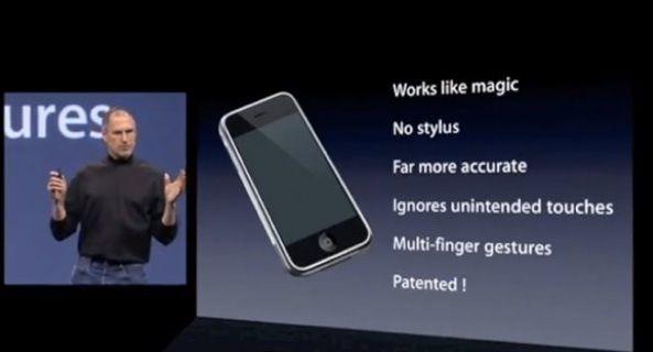 Стив Джобс на презентации iPhone