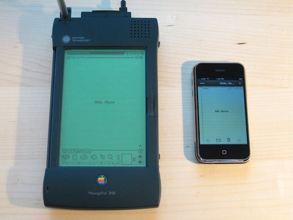 Newton PDA и iPhone