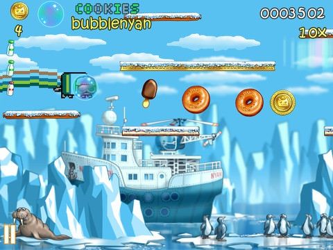 NyanCat Lost In Space для ipad и iphone