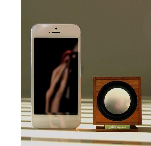 Petite Square bluetooth speaker for iphone